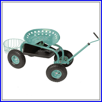 Work Rolling four wheels electric decorative garden cart