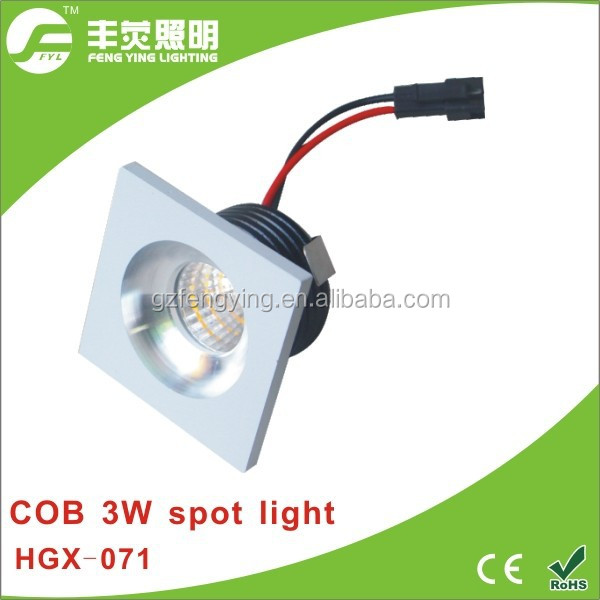 mini spot light 3w, cob spot light frame