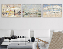 Modern abstract paintings art on canvas, framed wall art for home decor