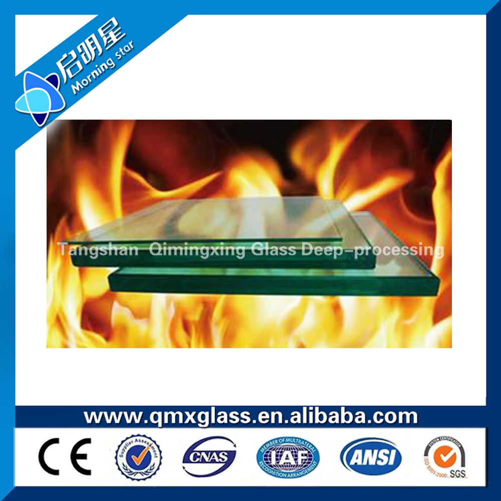 8-15mm 2 hour 3 hour single leaf Fire Rated double Glass Doors
