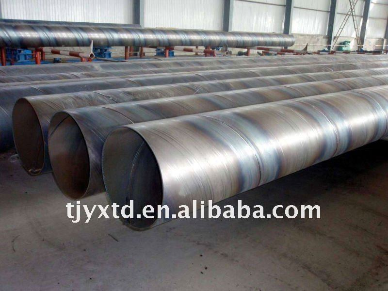 high frequency spiral welded steel pipes