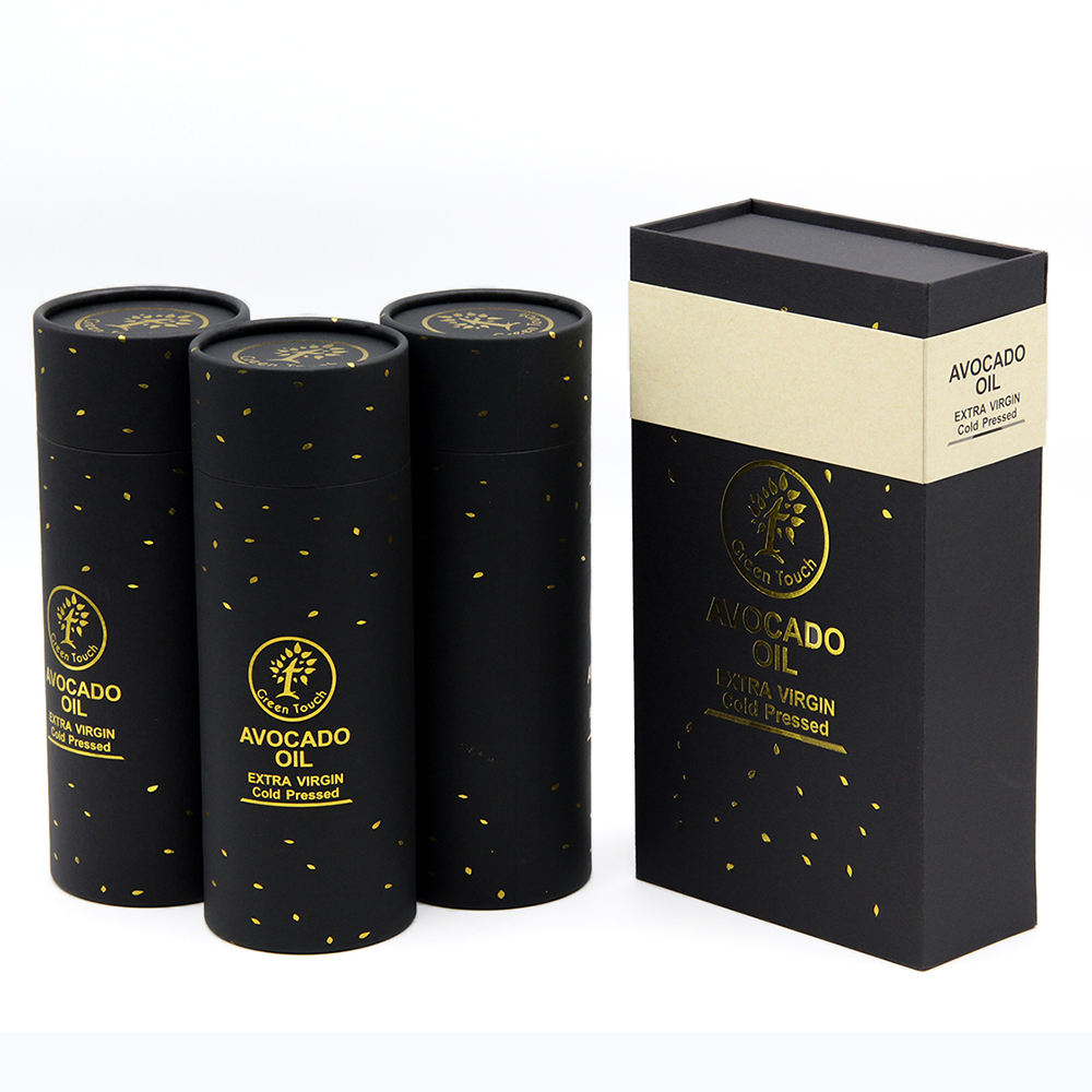 high quality Eco-friendly custom printed foldable Essential Oil/olive oil paper packaging box