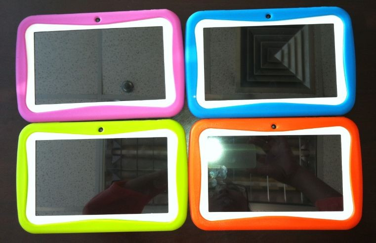 rugged heavy duty 7 inch tablet silicon case for kids tablet/silicon rubber case/silicone case for tablet pc