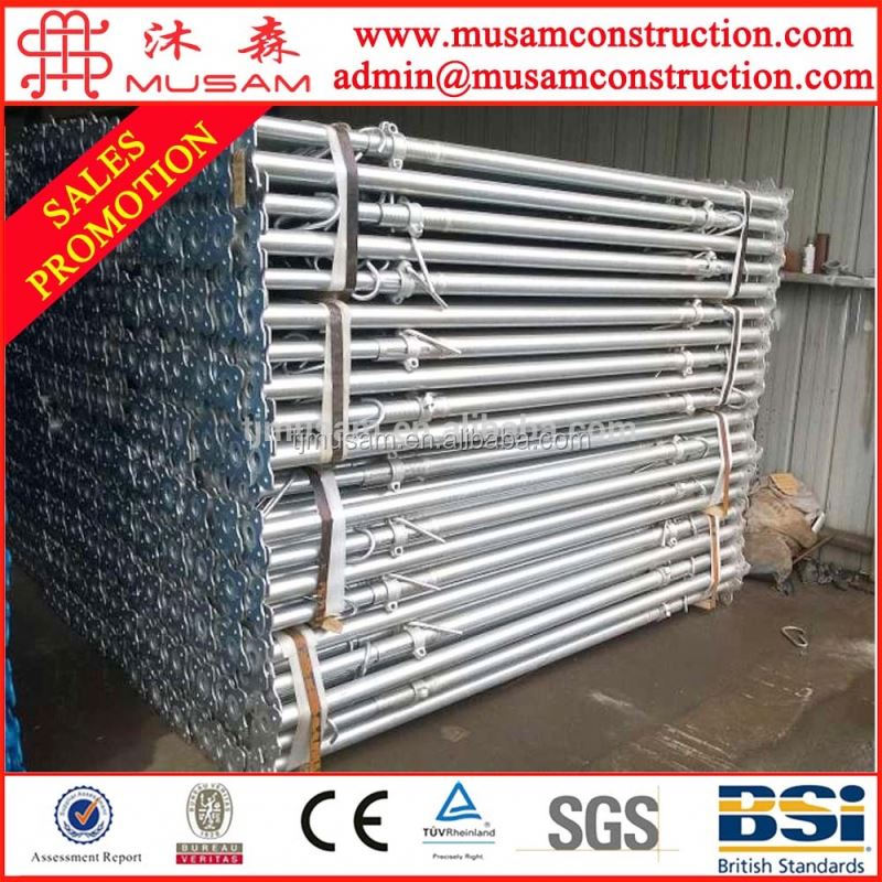 Japan standard trench shoring post for construction scaffolding
