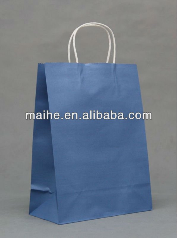 customized shopping paper bag with handle