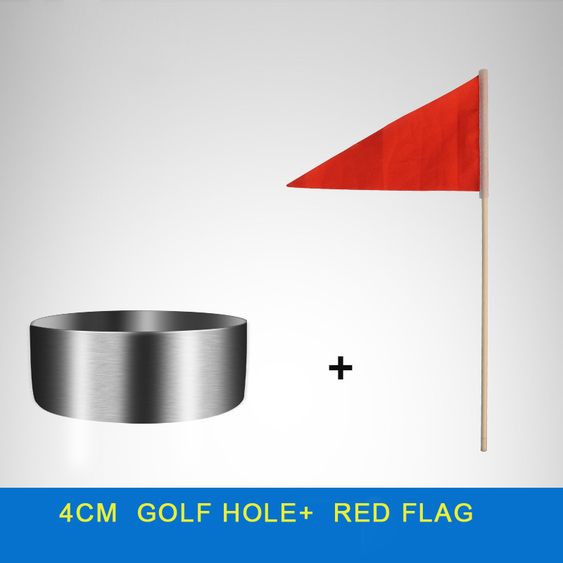 2cm 4cm high Stainless steel Golf Putting Cup Hole, Practice Green Cup,Golf Hole with flag