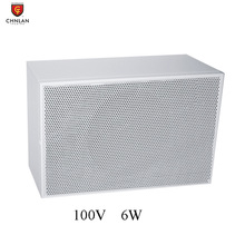 CCH-502T pa system indoor 5.5inch 6w white color ceiling cabinet speaker
