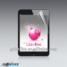 Hot films and made in china High Clear screen protector for iPad mini 2