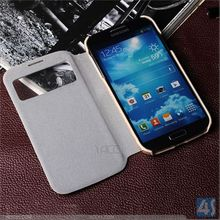 Window View Leather Case Smart Phone for Samsung Galaxy S4 P-SAMI9500CASE169