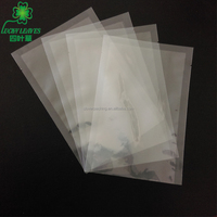 customized design freezer food plastic bags three side seal bag high temperature boiling pouch