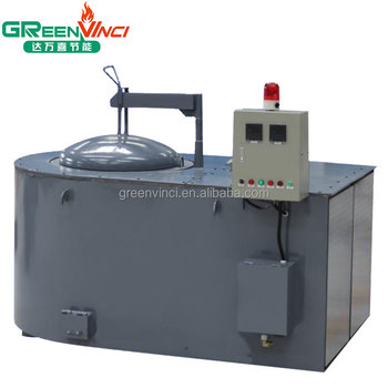 factory price gas fired aluminum melting furnace