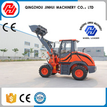 Certification wheel lawn tractor mini front end loader