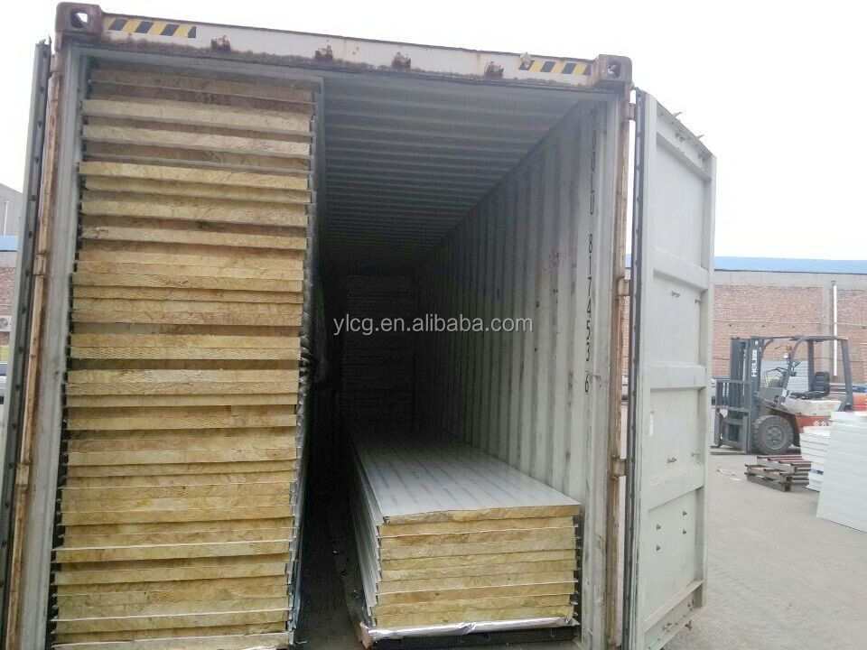 Used Freezer Insulated Panels : Freezer cold room used rockwool sandwich panel buy deep