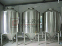Industrial used micro beer brewing equipment for 600L