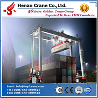 Cheap and famous 60t rubber tyre container gantry crane