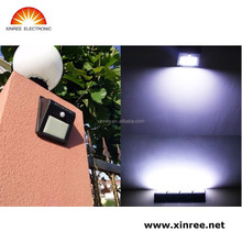 Xinree SL-810B Waterproof IP65 LED Solar Power PIR Motion Sensor Garden Security Wall Light