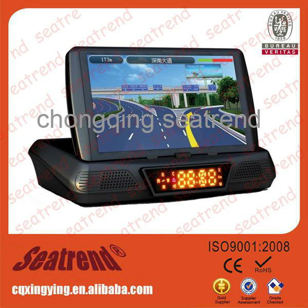 Built-in 4G gps navigation with car dvd player