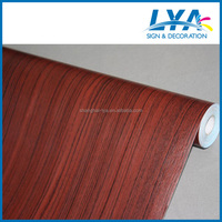 Low cost of removable wood grain stickers for furniture