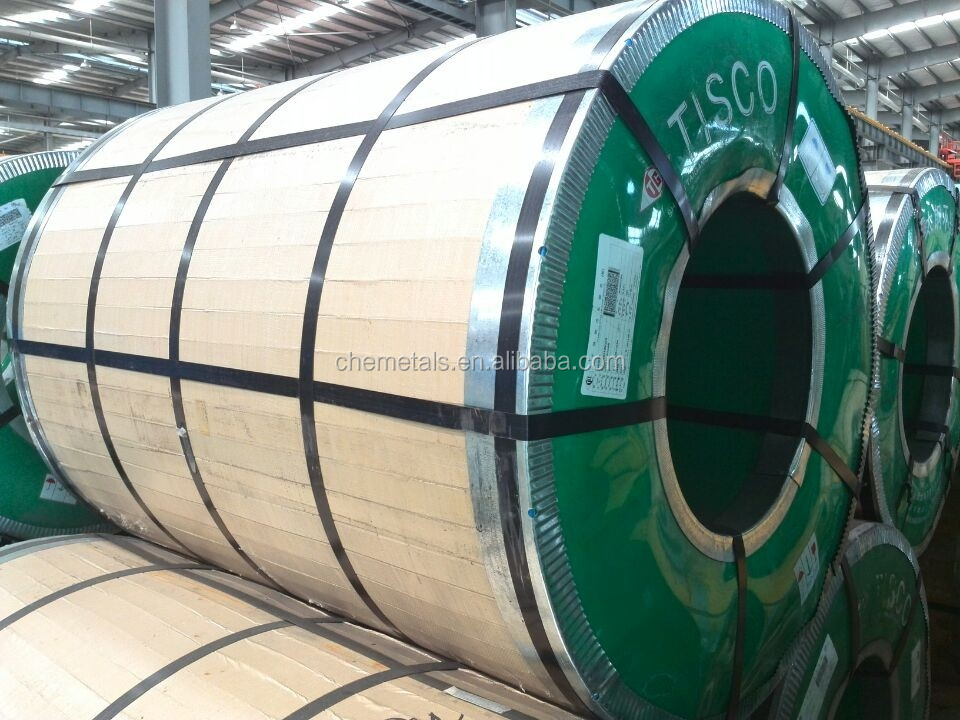 ISO Certificated for Stainless steel coil AISI304L/304/1.4301