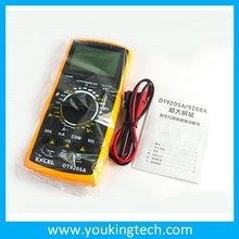 Digital multimeter Excel DT-9205A competitive price made in China