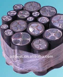 VV VV22 VV32 copper wire conductor PVC insulated power cable fro West Europe