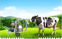 Best selling electric single cow portable milking machine for men