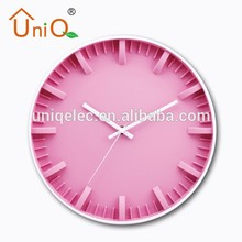 Promotional diy description for wall clock different shape