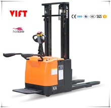 1.5 ton electric stacker 1500kg battery pallet stacker with CE