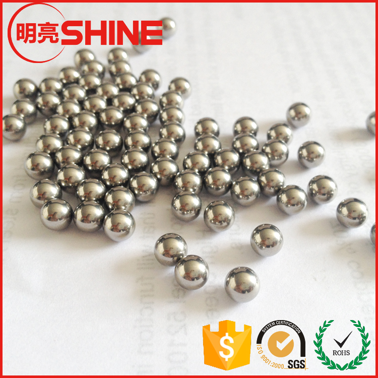 HRC 58-66 Hardness G100 1/4 And 5/16 Inch Steel Balls Metal Spheres For Bicycle Bub