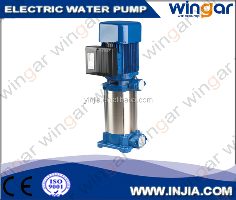 Multi Stage Centrifugal Vertical Pump 0.5hp 0.37kw Cheap prices
