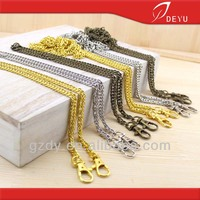 Metal Handbag Chain With Lobster Clasps
