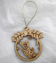 laser cut christmas decorations, christmas wood yard decorations