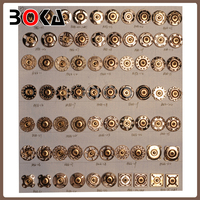 Brand New Stylish shiny gold coat buttons for windcoat simple design