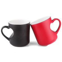Sublimation Magic Couple Mugs At Low Price Wholsale11oz Couple Lovers <strong>Cup</strong>