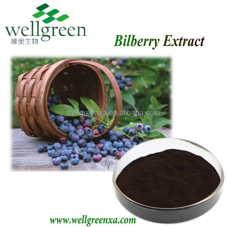 From Jilin, China, Bilberry Extract in Powder Form, on Sale!