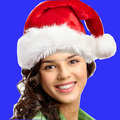 Factory direct sell super quality plush santa hat christmas hat