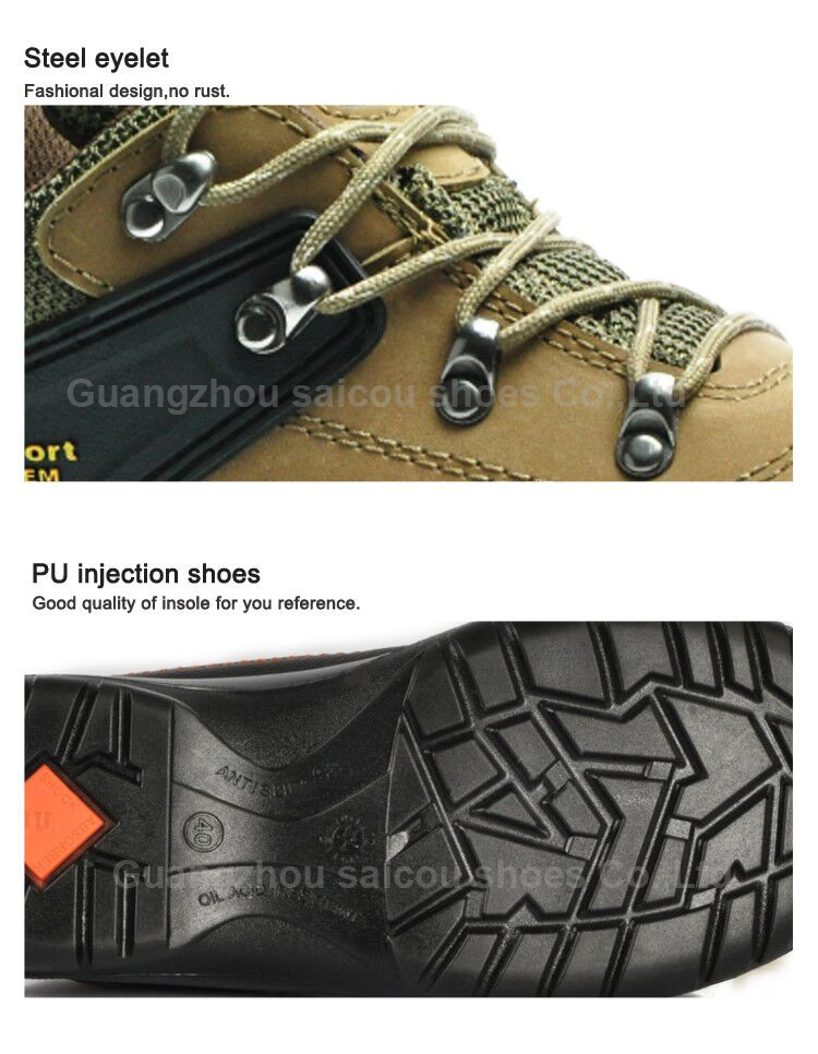 china factory wholesale chemical resistant composite toe safety shoes