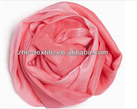 pink color pashmina scarf/shawl for lady