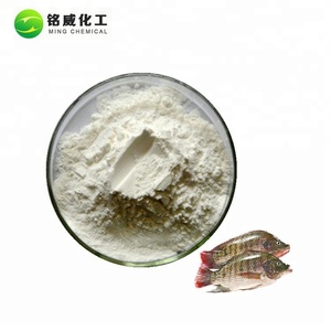 Top Hydrolyzed Tilapia Fish Scale Collagen Peptide Powder For Cosmetics