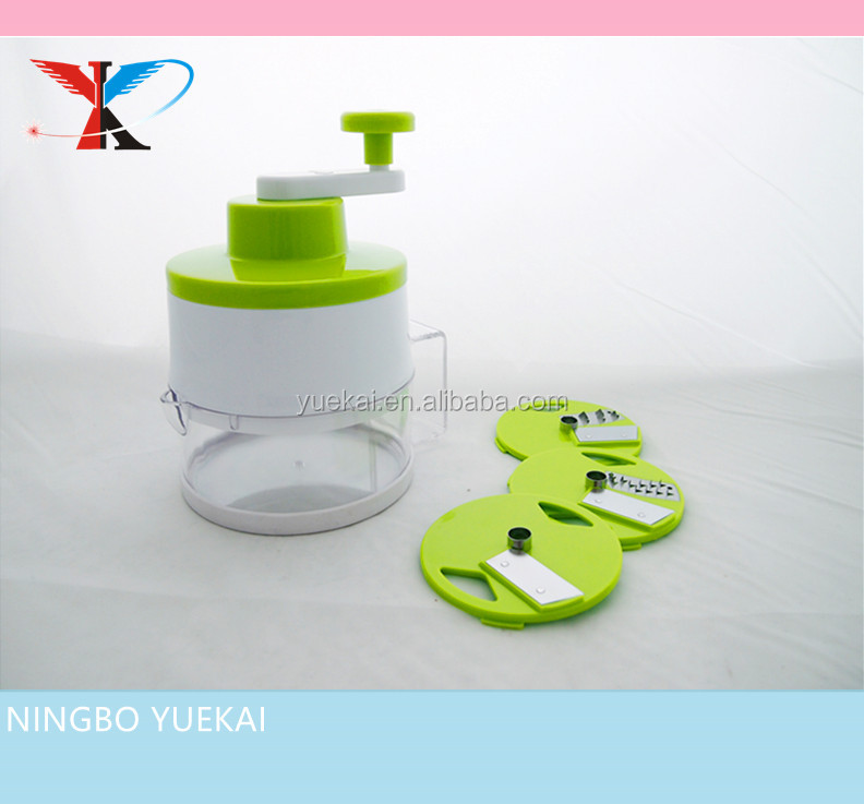 Multifunctional Vegetable Manual Swift Chopper,spiral slicer