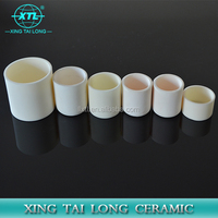 99.7% High Purity Casting Alumina Ceramic Boat for High Temperature Furnace