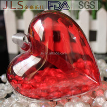 openable plastic round /heart shape for Wedding Party Supplies