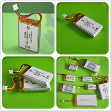 IEC62133 UN38.3 UL Approved 3.7v 700mah rechargeable li-ion battery / li-ion 3.7v 950mah battery / 3.7v 550mah lithium polymer