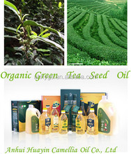 Organic Green Tea Seed Oil and Camellia Oil