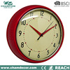 Wholesale large decoration metal wall clock , custom logo clock