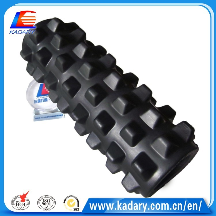 fitness yoga EVA foam roller hollow exercise yoga foam roller