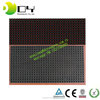 Cheap best price p10-1r outdoor led display module 32x16cm outdoor moving single color red p10 led display module