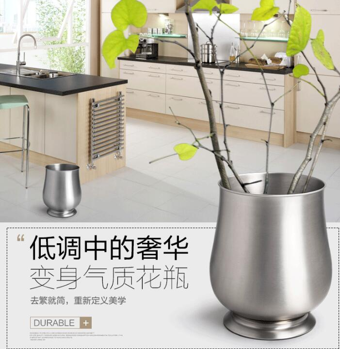 2017 new design SUS 304 Trash bin