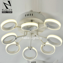 Alibaba best price white color acrylic led ring light
