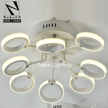 Alibaba white acrylic ceiling mounted circle led ring light